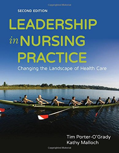 Leadership in Nursing Practice: Changing the Landscape of Health Care 2nd 2015 edition cover