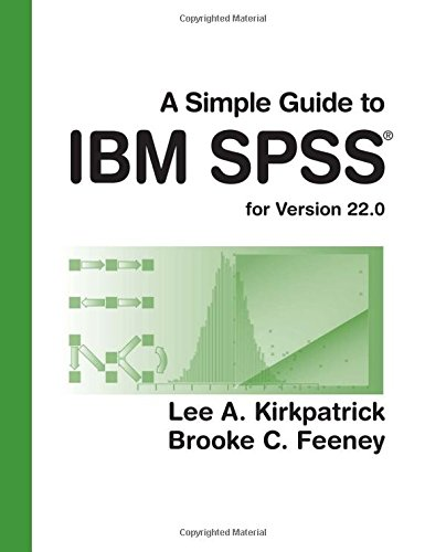Simple Guide to IBM SPSS: for Version 22. 0  13th 2015 edition cover