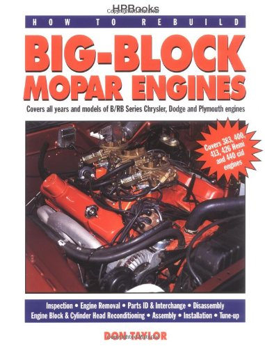 How to Rebuild Big-Block Mopar Engines  N/A 9781557881908 Front Cover