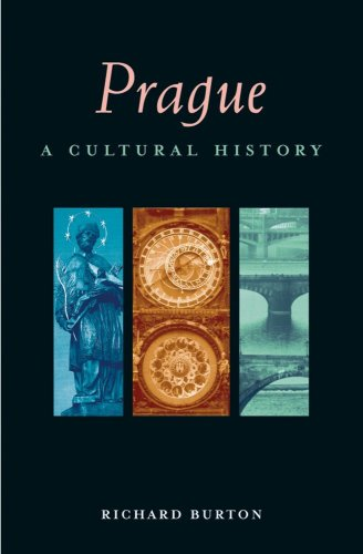 Prague A Cultural and Literary History  2003 edition cover
