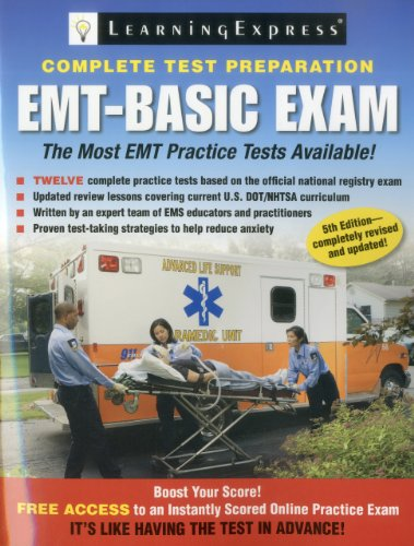 EMT-Basic Exam  5th 2011 9781576857908 Front Cover
