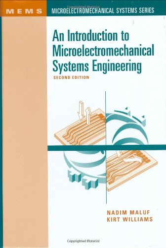 Introduction to Microelectromechanical Systems Engineering  2nd 2004 edition cover
