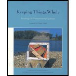 Keeping Things Whole : Readings in Environmental Science  2003 edition cover
