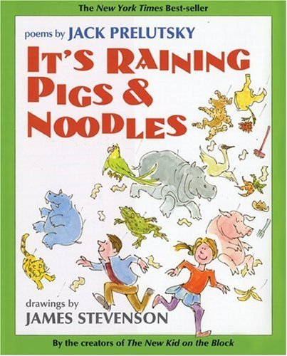 It's Raining Pigs and Noodles  Reprint  9780060763909 Front Cover