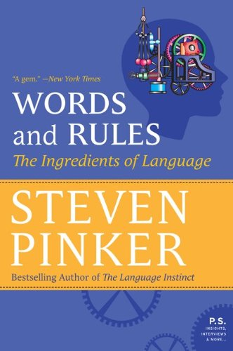 Words and Rules The Ingredients of Language N/A edition cover