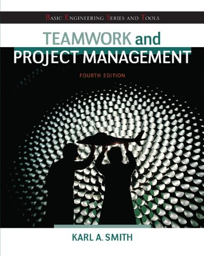 Teamwork and Project Management  4th 2014 edition cover