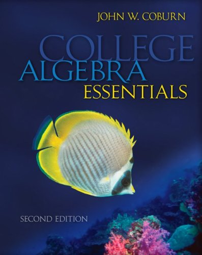 College Algebra Essentials  2nd 2010 edition cover