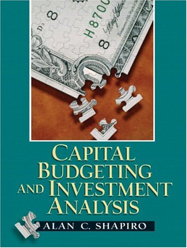 Capital Budgeting and Investment Analysis   2005 edition cover