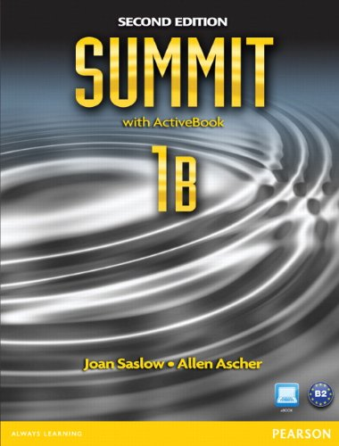 Summit 1B  2nd 2012 9780132679909 Front Cover
