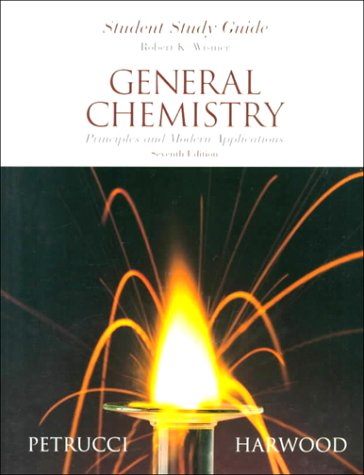 General Chemistry  7th 1997 (Student Manual, Study Guide, etc.) 9780132819909 Front Cover