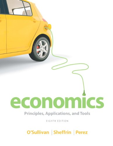 Economics Principles, Applications, and Tools Plus NEW MyEconLab with Pearson EText -- Access Card Package 8th 2014 edition cover