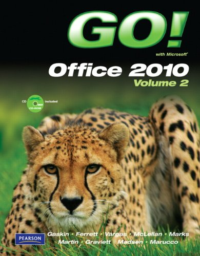 GO! with Microsoft Office 2010   2011 edition cover