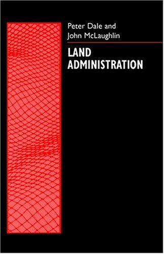 Land Administration   1999 edition cover