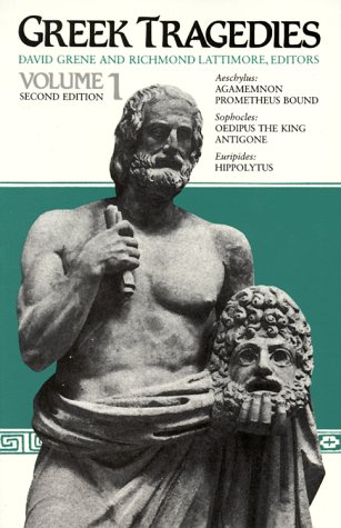 Greek Tragedies  2nd edition cover