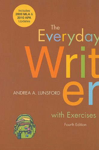 Everyday Writer with Exercises  4th (Revised) edition cover