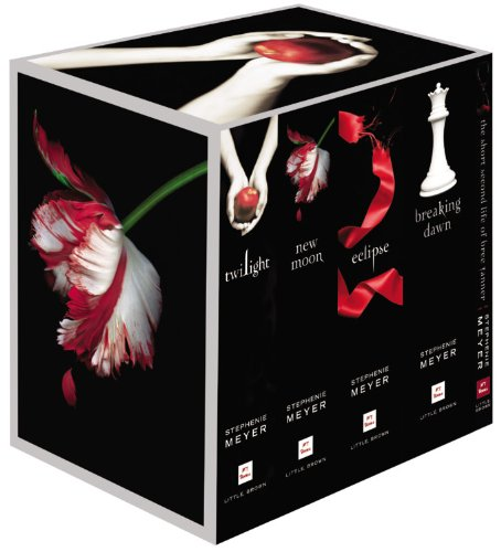 Twilight Saga Collection Twilight; New Moon; Eclipse; Breaking Dawn N/A edition cover