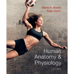 Human Anatomy and Physiology Plus a Brief Atlas of the Human Body Plus MasteringA&P with Pearson EText   2013 edition cover