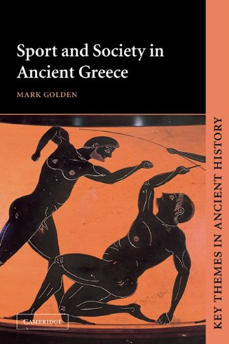 Sport and Society in Ancient Greece   1998 edition cover