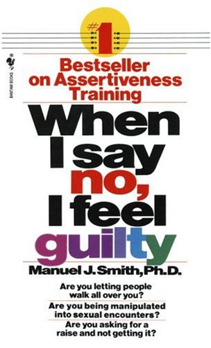 When I Say No, I Feel Guilty   1975 edition cover