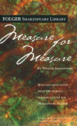 Measure for Measure   2005 edition cover