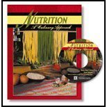 Nutrition : A Culinary Approach 1st (Revised) 9780757500909 Front Cover