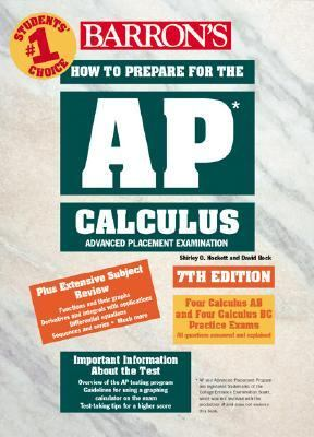 How to Prepare for the AP Calculus Advanced Placement Examination 7th 2002 9780764117909 Front Cover