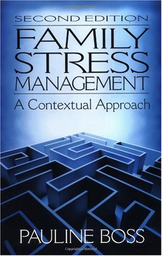 Family Stress Management A Contextual Approach 2nd 2001 (Revised) edition cover