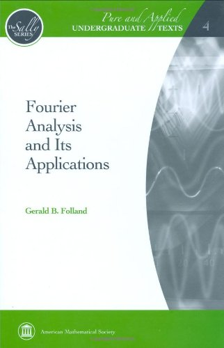 Fourier Analysis and Its Applications   2009 edition cover