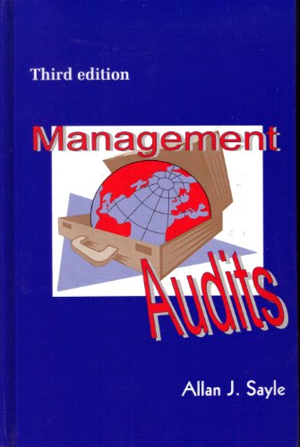 Management Audits : The Assesment of Quality Management Systems 3rd (Revised) 9780951173909 Front Cover