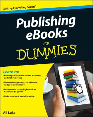 Publishing e-Books for Dummies   2012 edition cover