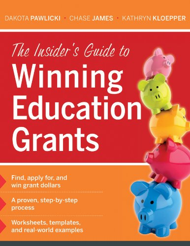 Insider's Guide to Winning Education Grants   2013 edition cover