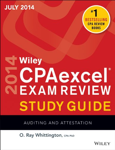 Wiley Cpaexcel Exam Review 2014 Auditing and Attestation 12th 2014 edition cover