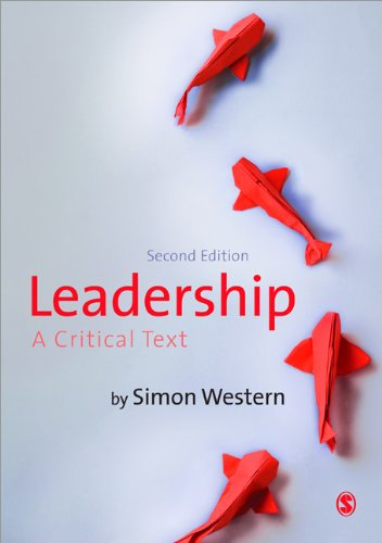 Leadership A Critical Text 2nd 2013 edition cover