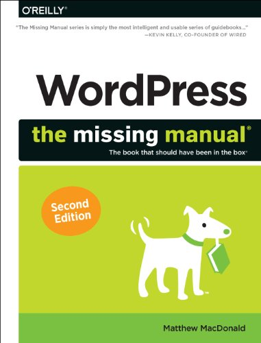 Wordpress The Missing Manual 2nd 2014 edition cover