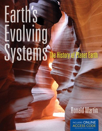 Earth's Evolving Systems The History of Planet Earth  2013 edition cover