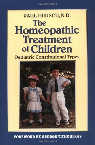 Homeopathic Treatment of Children Pediatric Constitutional Types N/A 9781556430909 Front Cover