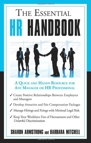 Essential HR Handbook   2008 edition cover