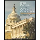 Basic Principles of American Government Revised Edition  2009 9781567656909 Front Cover