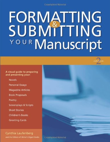 Formatting and Submitting Your Manuscript  2nd 2004 (Revised) edition cover