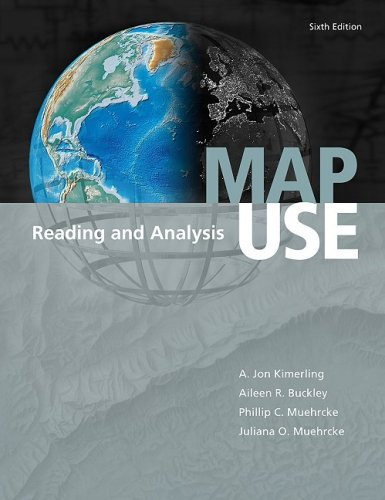 Map Use Reading and Analysis 6th 2009 edition cover