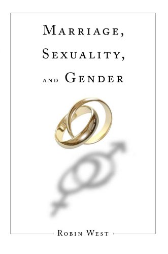 Marriage, Sexuality, and Gender   2008 edition cover