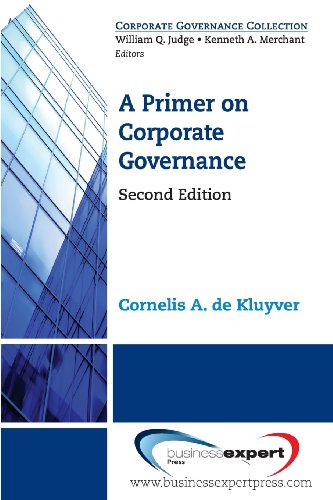 Primer on Corporate Governance, Second Edition  N/A edition cover