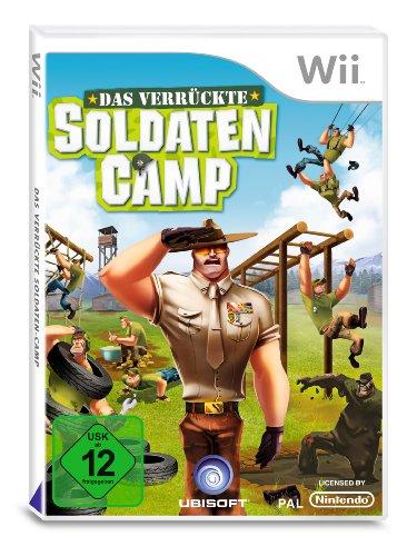 Das verrückte Soldaten-Camp Nintendo Wii artwork
