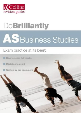 AS Business Studies (Do Brilliantly At...) N/A edition cover