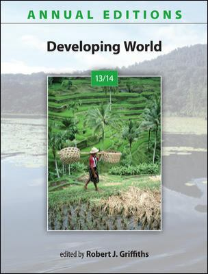 Annual Editions: Developing World 13/14  23rd 2013 edition cover