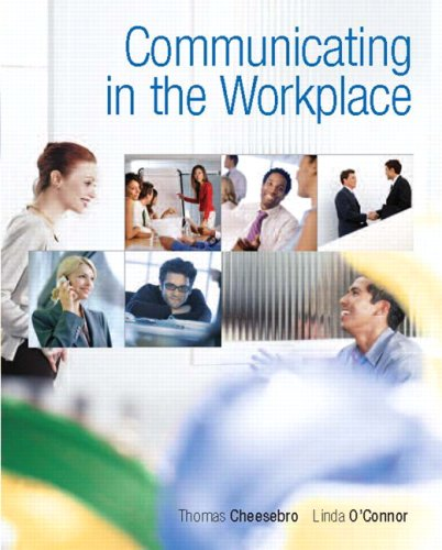 Communicating in the Workplace   2010 edition cover