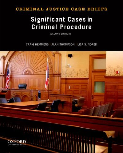 Significant Cases in Criminal Procedure  2nd edition cover