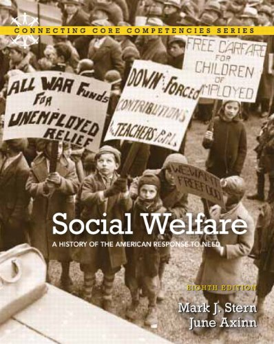 Social Welfare A History of the American Response to Need 8th 2012 (Revised) edition cover