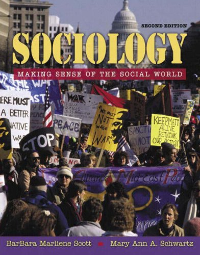 Sociology Making Sense of the Social World 2nd 2006 (Revised) edition cover
