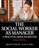 SOCIAL WORKER AS MANAGER                N/A 9780205957910 Front Cover